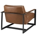 San Diego Modern Brown Lounge Chair - Back View