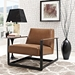 San Diego Contemporary Brown Lounge Chair