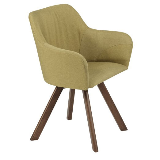 Sanders Modern Green Arm Chair