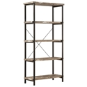 Sandler Contemporary Salvaged Cabin Book Shelf