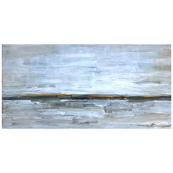 Sandy Point Modern Canvas Gallery Wrap Wall Art