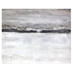 Sandys Cove Modern Canvas Gallery Wrap Wall Art
