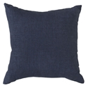 "Sanela 18"" Navy Modern Pillow"