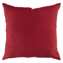 "Sanela 18"" Red Modern Pillow"
