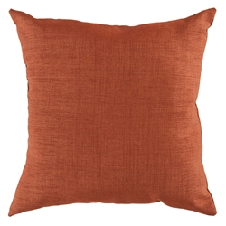 "Sanela 18"" TerraCotta Modern Pillow"