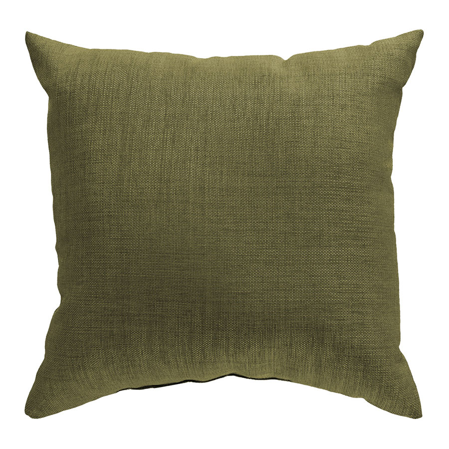 "Sanela 22"" Green Modern Pillow"