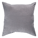 "Sanela 22"" Gray Modern Pillow"