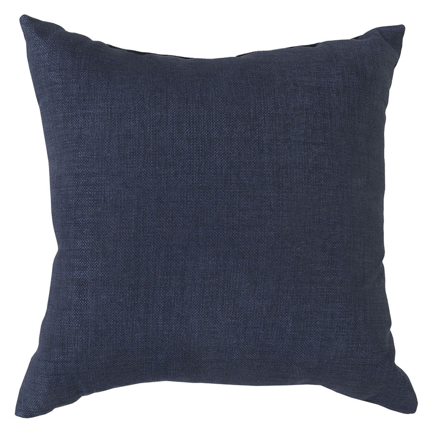 "Sanela 22"" Navy Modern Pillow"