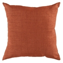 "Sanela 22"" TerraCotta Modern Pillow"