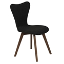 Sanne Modern Dark Gray Dining Chair