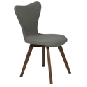 Sanne Modern Light Gray Dining Chair