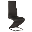 Sara Black Modern Dining Side Chair