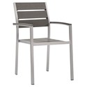 Sarasota Modern Outdoor Dining Arm Chair