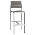 Sarasota Modern Outdoor Armless Bar Stool