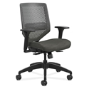 Saturn Modern Flex Back Office Chair in Gray