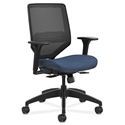 Saturn Modern Mesh Back Office Chair in Blue