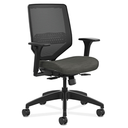 Saturn Modern Mesh Back Office Chair in Gray