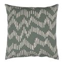 "Saul 18"" Sage Modern Pillow"