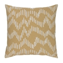 "Saul 20"" Camel Modern Pillow"