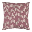 "Saul 20"" Rose Modern Pillow"