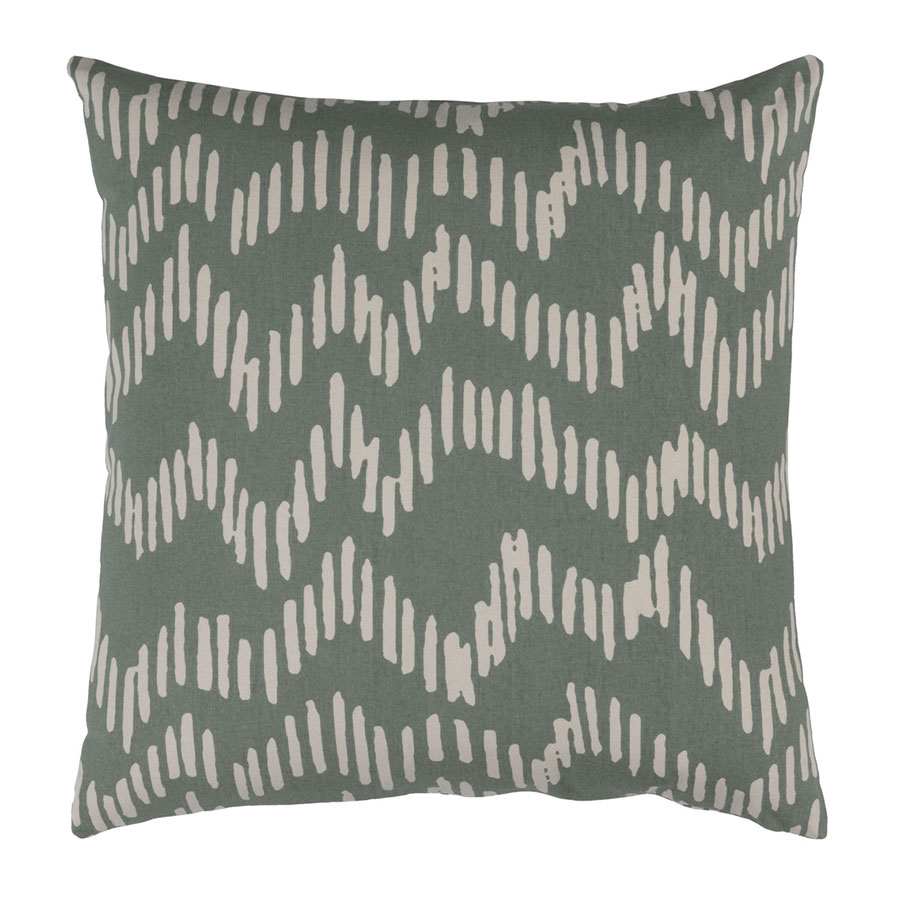 "Saul 20"" Sage Modern Pillow"