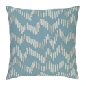 "Saul 22"" Aqua Modern Pillow"