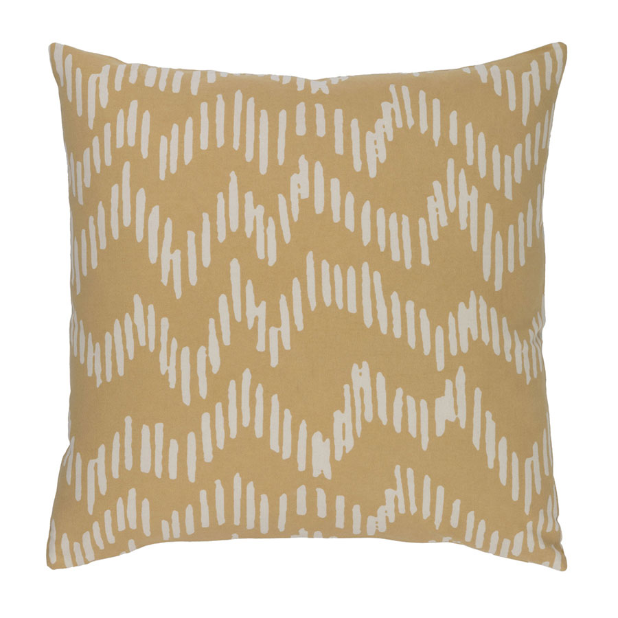 "Saul 22"" Camel Modern Pillow"