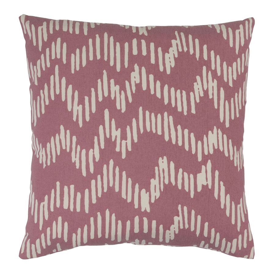 "Saul 22"" Rose Modern Pillow"