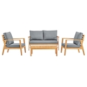 Sausalito Modern Outdoor Living Set