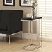 Savannah Contemporary Glossy Black Accent Table