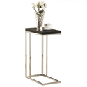 Savannah Modern Glossy Black Accent Table