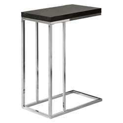 Savannah Modern Cappuccino Accent Table