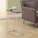 Savannah Contemporary Dark Taupe Accent Table