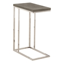 Savannah Modern Dark Taupe Accent Table