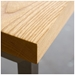 Modern Stanley Counter Stool - Natural Ash Wood Detail