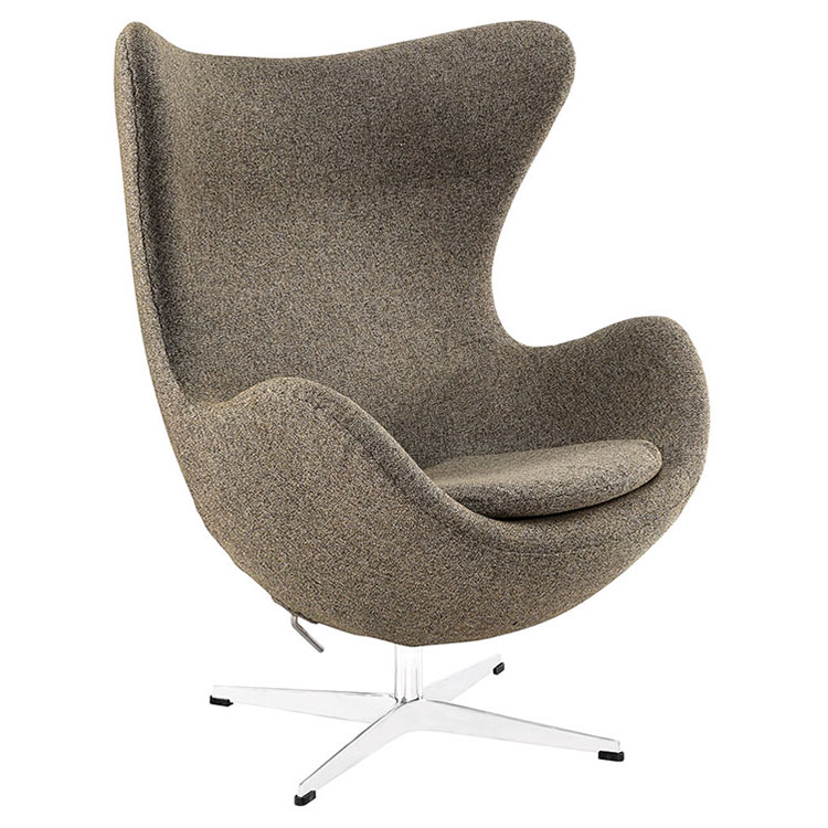 Scoop Modern Classic Lounge Chair