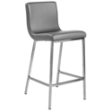 Scott Modern Gray Counter Stool by Euro Style