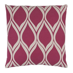 "Scout 18"" Pink Modern Pillow"