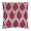 "Scout 22"" Pink Modern Pillow"