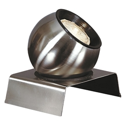 Sentra Accent Spot Lamp Brushed Steel