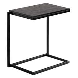 Sentra Modern Stacking Laptop Desk in Java Stain