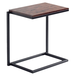 Sentra Modern Stacking Laptop Desk in Safari Stain