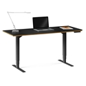 BDI Sequel 20 Small Lift Desk in Natural Walnut - Low Position