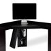 Sequel Corner Desk Top w/ Keyboard Tray by BDI