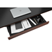 BDI Sequel Executive Lift Contemporary Sit + Stand Desk Storage Drawer in Chocolate Stained Walnut