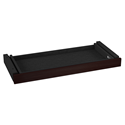 BDI Sequel Lift Contemporary Executive Sit + Stand Desk Storage Drawer in Espresso Stained Oak