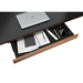 BDI Sequel Walnut Modern Executive Lift Desk Optional Storage Drawer