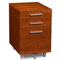 Sequel Contemporary Mobile File Cabinet Cherry by BDI
