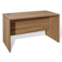 "Series 100 47"" Walnut Laminate Modern Commercial Grade Desk"