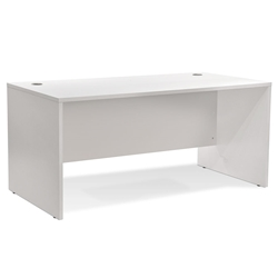 Series 100 Modern White 63 Inch Desk